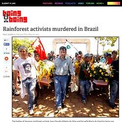 Rainforest activists murdered in Brazil