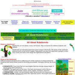 Zoom Rainforest - Enchanted Learning Software