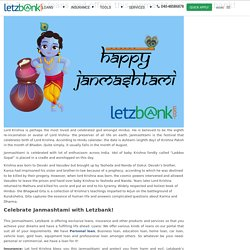 Its Raining loans and offers this Janmashthami at Letzbank!