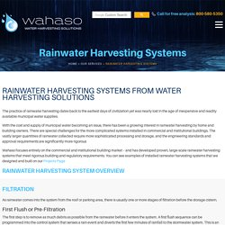 Get a Rainwater Harvesting For Your Commercial Buildings