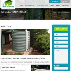 Rainwater Tank Installation Adelaide