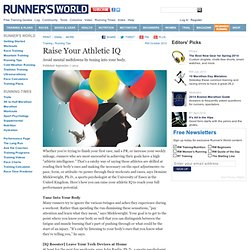 Raise Your Athletic IQ