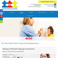 Raising a Child with Asperger's Syndrome