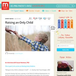 Raising an Only Child « TheMotherCompany TheMotherCompany