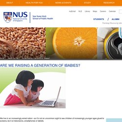 NUS - Saw Swee Hock School of Public Health
