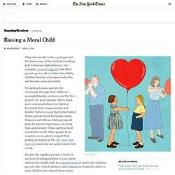 Raising a Moral Child