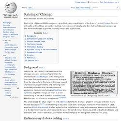 Raising of Chicago