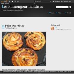 Pains aux raisins - Les Phinougourmandises