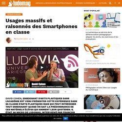 Usages massifs et raisonnés des Smartphones en classe – Ludovia Magazine