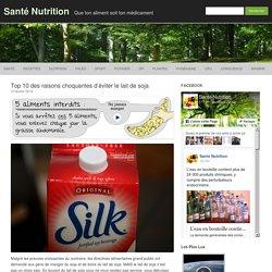 Top 10 des raisons choquantes d'éviter le lait de soja