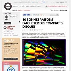 10 bonnes raisons d'acheter des compacts disques | Owni.fr
