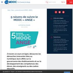 5 raisons de suivre le MOOC « ANGE »