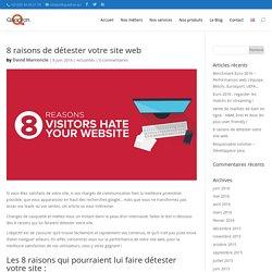 8 raisons de détester votre site web - Quadran