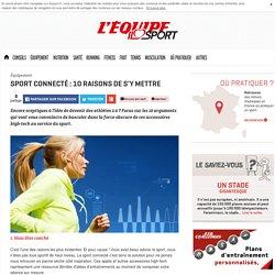 10 raisons de devenir un sportif connecté