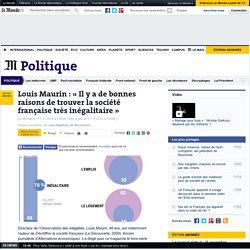 Louis Maurin : «Il y a de bonnes raisons de trouver la société française très inégalitaire»