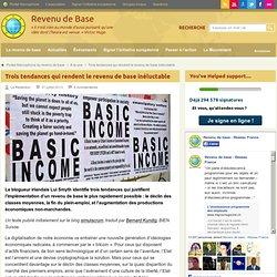 Trois raisons pour lesquelles le revenu de base va s'imposer