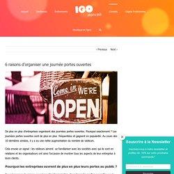 6 raisons d'organiser une journée portes ouvertes - IGO Objets Pub - Blog