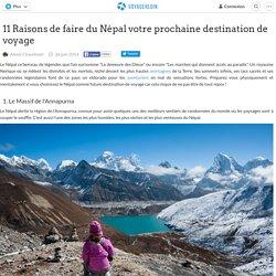 11 Raisons de faire du Népal votre prochaine destination de voyage