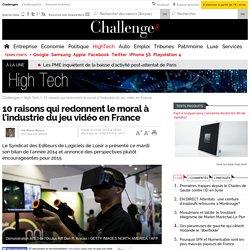 10 raisons qui redonnent le moral à l'industrie du jeu vidéo en France - 11 février 2015