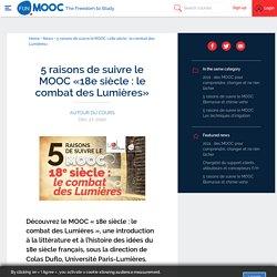 MOOC Combats des Lumières
