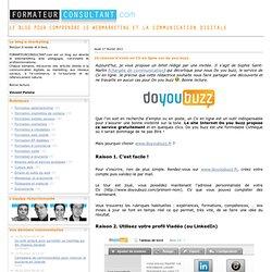 10 raisons d'avoir un CV en ligne sur do you buzz
