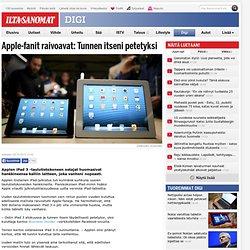 Apple-fanit raivoavat: Tunnen itseni petetyksi - Digi - Digiuutiset