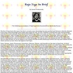 Raja Yoga - By Swami Vivekananda