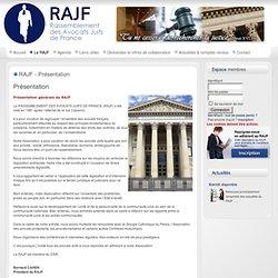 RAJF - Présentation