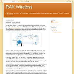 Alexa is Everywhere - Rakwireless