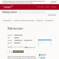 Räknerutan - SPSM Webbutiken