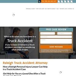 Raleigh Truck Accident Attorney