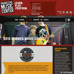 Raleigh Summer Camps, Music Camps Raleigh, NC