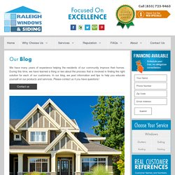 Raleigh Windows and Siding - Blog