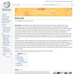 Ralli quilt