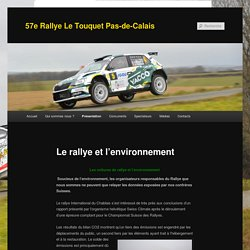 57e Rallye Le Touquet Pas-de-Calais