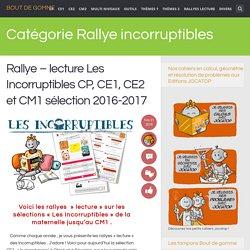 Rallye incorruptibles