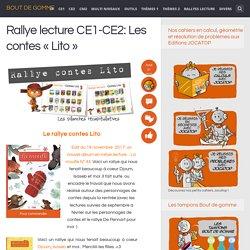 Rallye lecture CE1-CE2: Les contes «Lito»