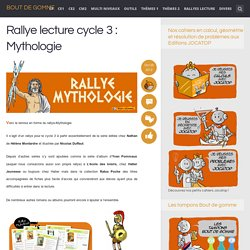 Rallye lecture cycle 3 : Mythologie