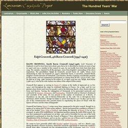 Ralph Cromwell, 4th Baron Cromwell (1394?-1456)