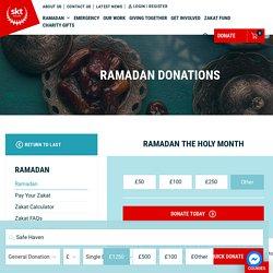 Ramadan Donations - Pay Your Zakat al Fitr 2021 Now