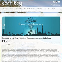 Ramadan by the Sea - Coral Bay
