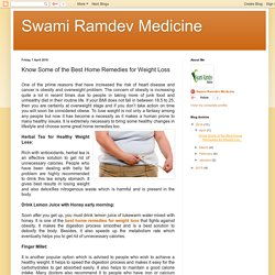 Swami Ramdev Medicine: Know Some of the Best Home Remedies for Weight Loss