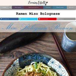 Ramen Miso Bolognese