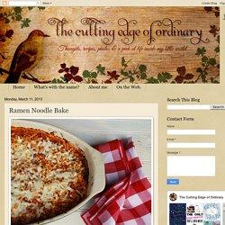 Ramen Noodle Bake
