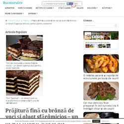 Prăjitură fină cu brânză de vaci și aluat sfărâmicios - un desert fraged și delicios, perfect pentru weekend! - Bucatarul.tv