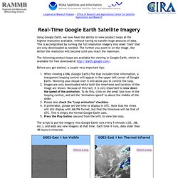 RAMMB: Real-Time Google Earth Satellite Imagery