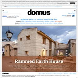 Rammed Earth House