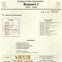 Ramsès I