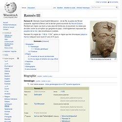 Ramsès III