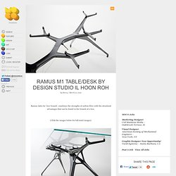 Ramus M1 Table/Desk by Design Studio Il Hoon Roh